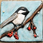 Chickadee Wall Tile