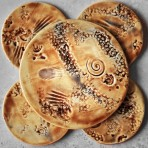 Seashells Coaster & Trivet Set