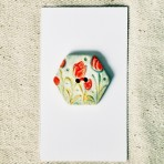Hexagonal Tulip Button
