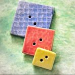 Square Buttons – Set of 3 in Primary Colors