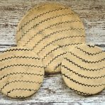 Zigzag Coaster & Trivet Set