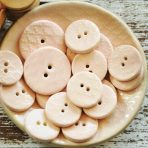 Blush Pink Textured Button