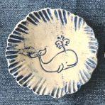 Round Trinket Dish – Whale
