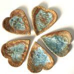 Heart-shaped little plate – Set of 3