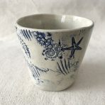 Delft Blue & White Ocean Themed Cup