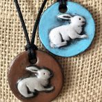 Bunny Rabbit Pendant – Large