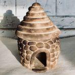 Pit-fired Cobblestone Hut – 7.5″