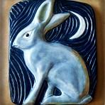 Jack Rabbit Under Moon