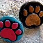 Animal Paw Print Pin/Brooch