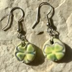Four Leaf Clover Drop Earrings