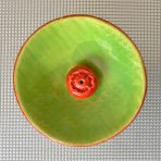 Round Incense Holder – Two-toned