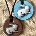 Bunny Rabbit Pendant – Large