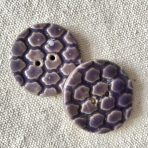 Purple Textured Buttons