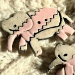 Jumbo Elephant Button